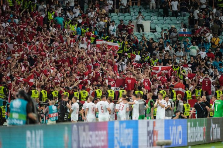 EURO-2020 - Nyolcezer dán szurkolót várnaka szerda esti elődöntőreaWembleybe