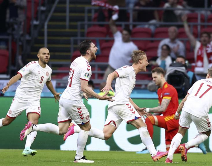 EURO-2020 - A dán kapitány már a torna előtt megmondta, hogy visszatérnek a Wembley Stadionba