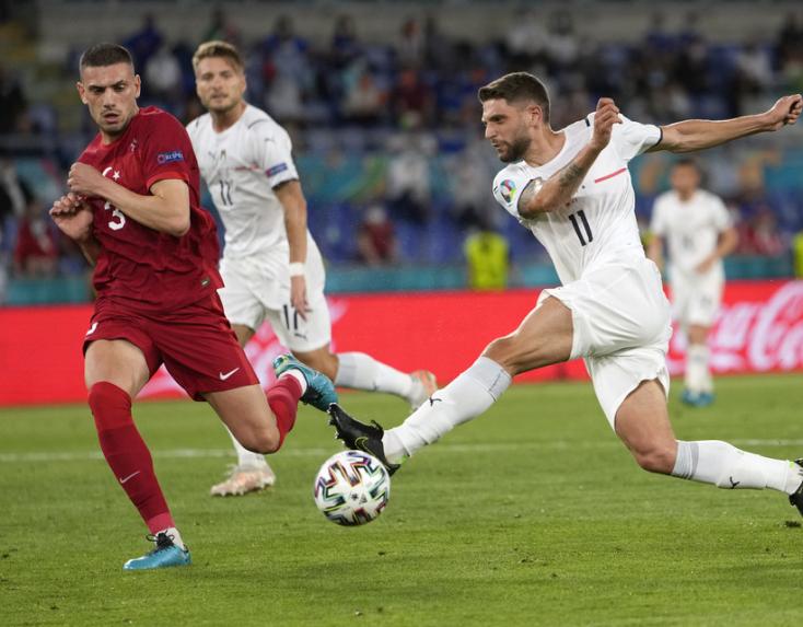 EURO-2020 - Negyeddöntő: Olaszország-Belgium 2-1