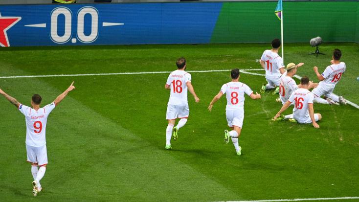 EURO 2020: Svájc - Spanyolország: 1 - 1, tizenegyesekkel 3 - 1